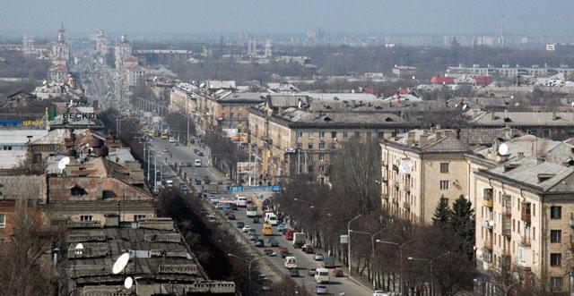 Проспект Ленина. Запорожье